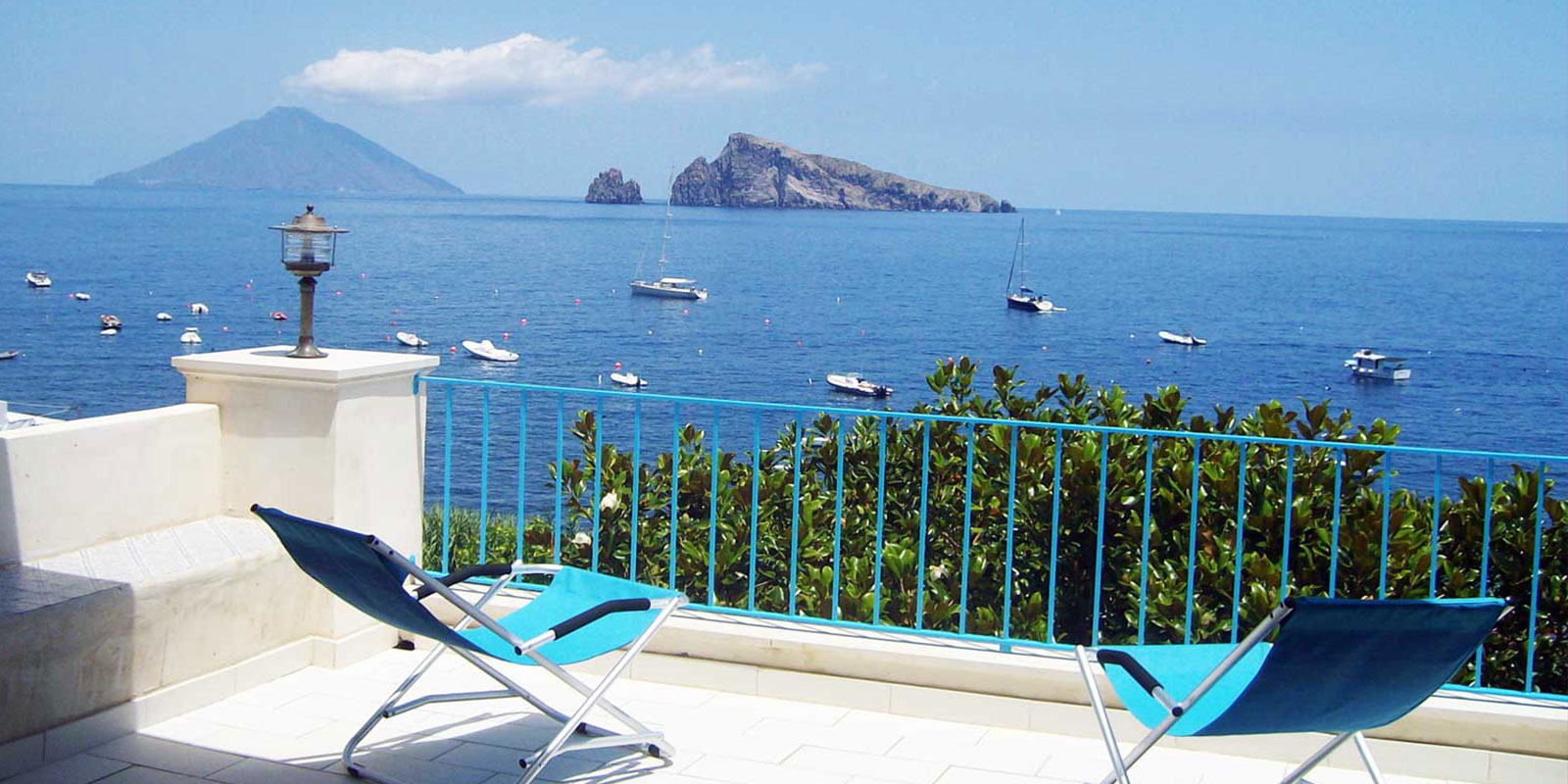 Hotel Villa Morgana Resort Spa - Panarea e Stromboli by night